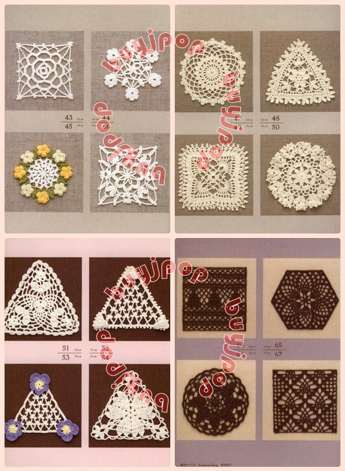 Chinese Out Of Print Japanese Craft Pattern Book 148 Lace