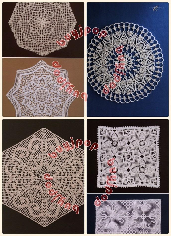 Crochet Lace Book Cover : Chinese japanese craft pattern book special in crochet
